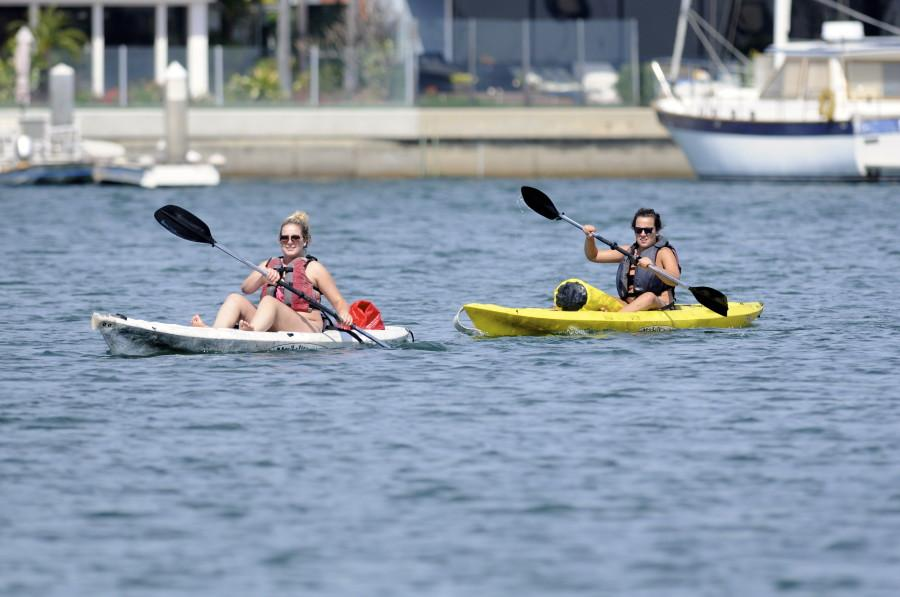 Kayaking, Long Beach Canals