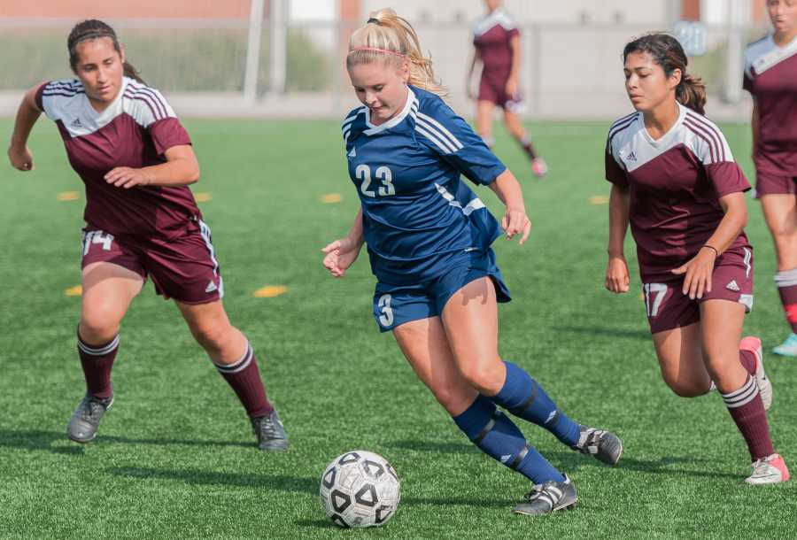 EC women's soccer team nets six in win over Compton Center