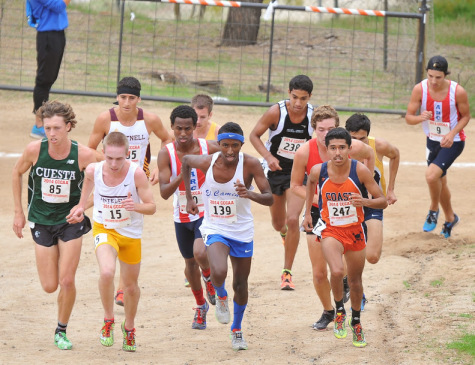 EC men's cross country team takes tenth place at State Championship